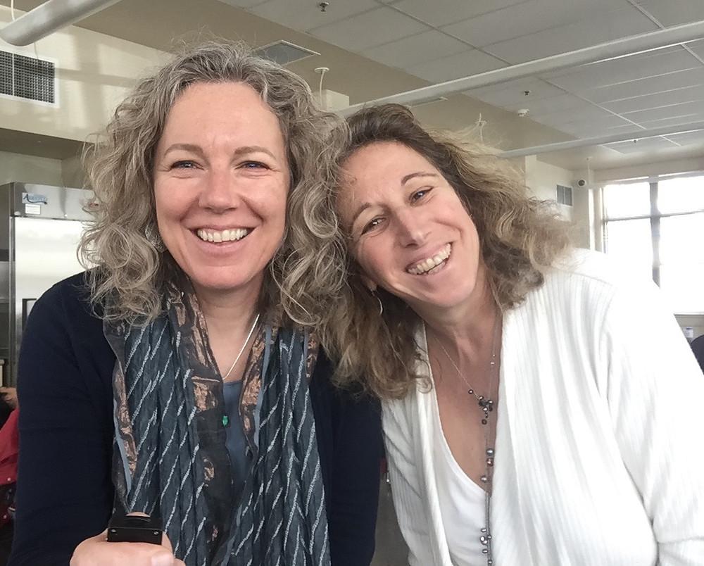 Kate Mackinnon & Lori Chinitz