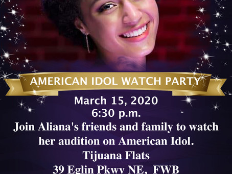 Come join my family and friends to watch my premier on ABC Sunday!