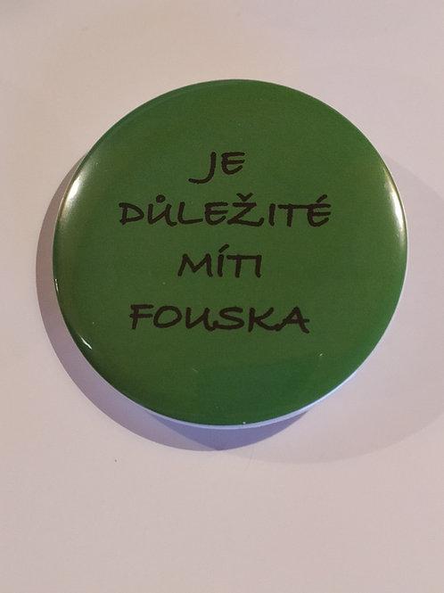 Magnet zelený