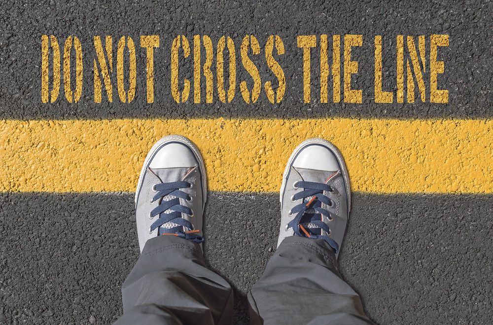 Boundaries cross people who The only