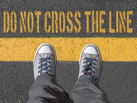 Why we need boundaries!