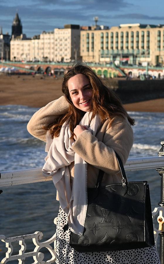 Female on a winters day on Brighton beach.jpg