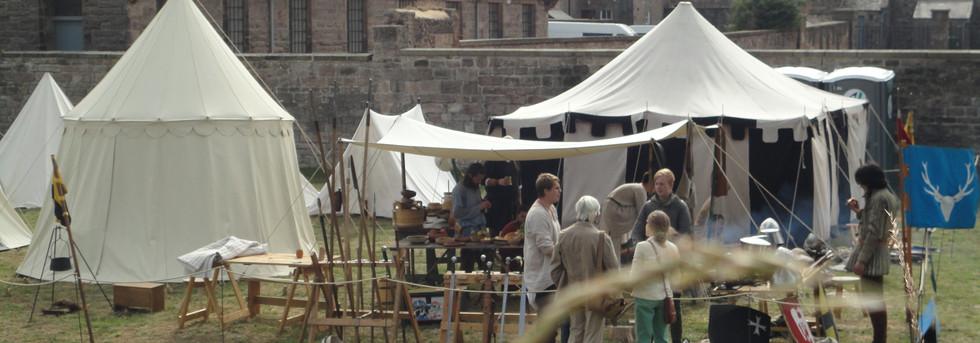 The camp at Berwick!