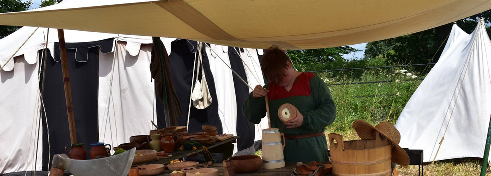 Peasant Churning Butter