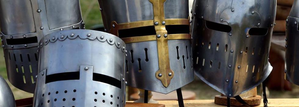 Medieval Great Helms