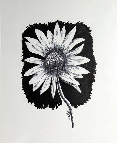 Inky Flower