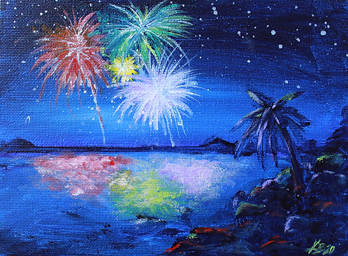 Fireworks in Paradise