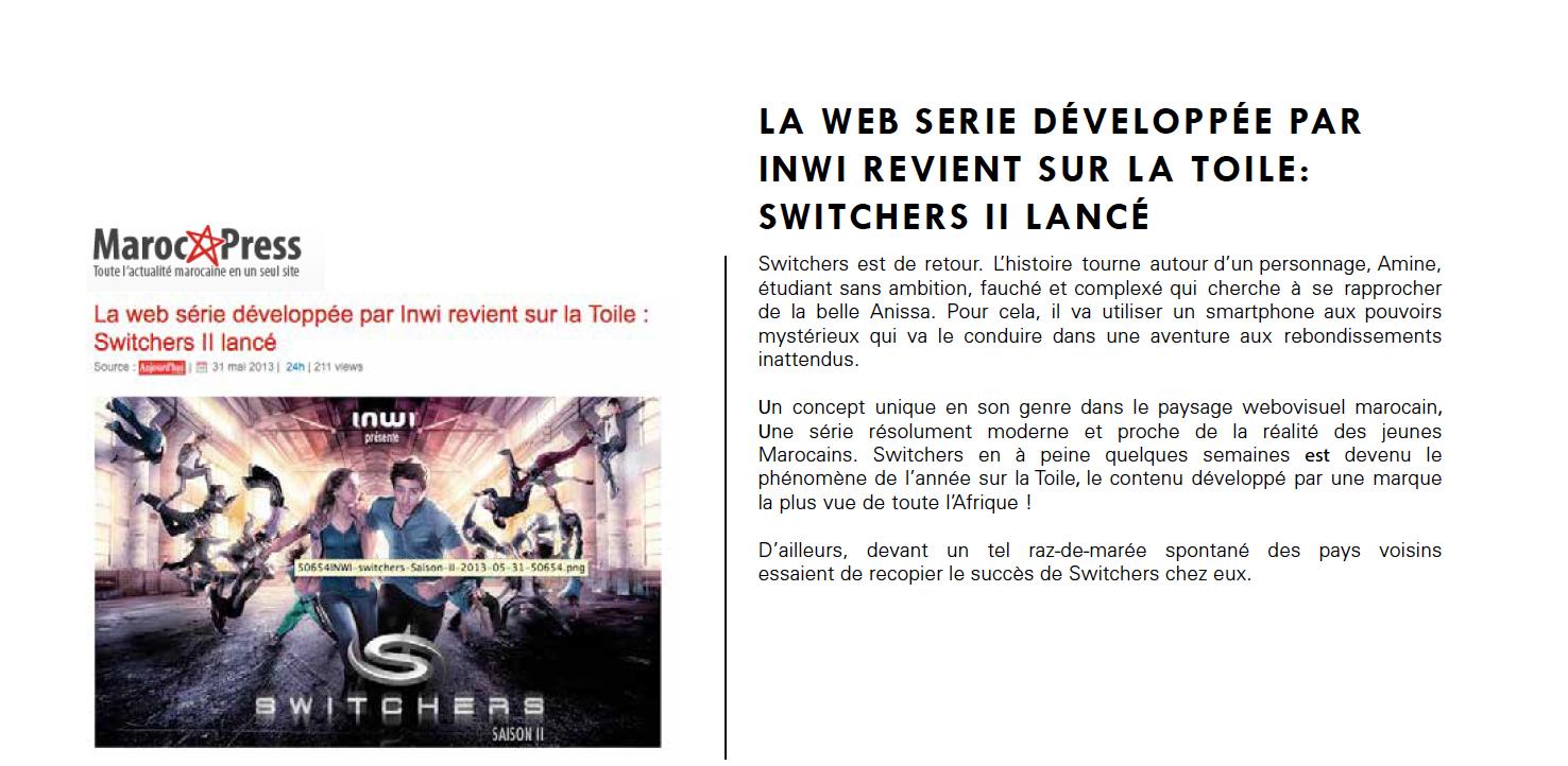 Maroc  24 Switchers 2 Perret & Dash