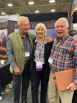 Robin and Pauline Hurt and John Jackson
