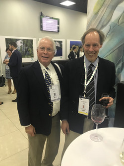 John with Richard Hensley of African