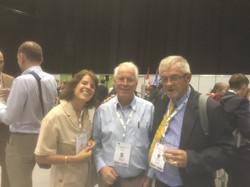 John Jackson with dear friend Graham Web, Chairman of IUCN Crocodile Specialist Group