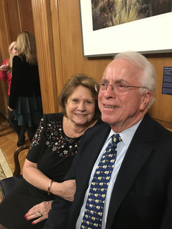 John with Susan Lampson of NRA