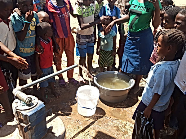 From fetching water on Zambezi River ban