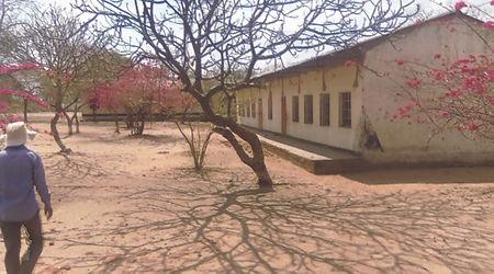 Well treed Masoka School where those bor