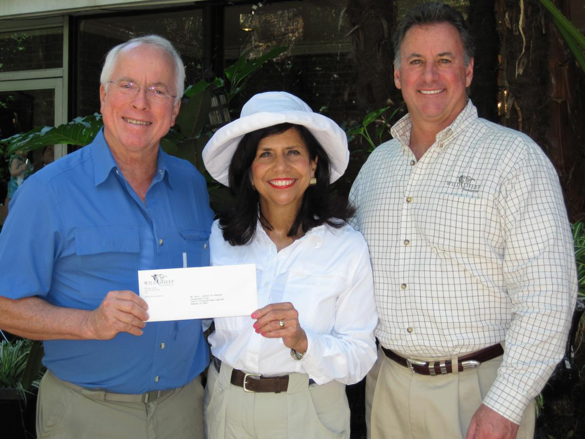 Chrissie and John receiving $50K che