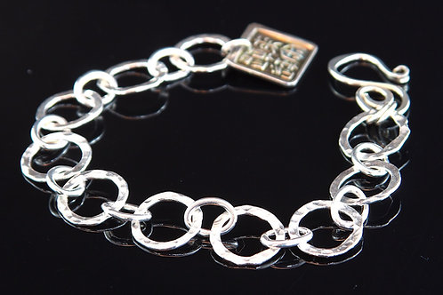 Lightness in Silver Bracelet