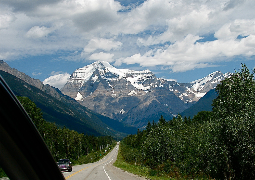 Driving through the Rocky Mountains (2008)