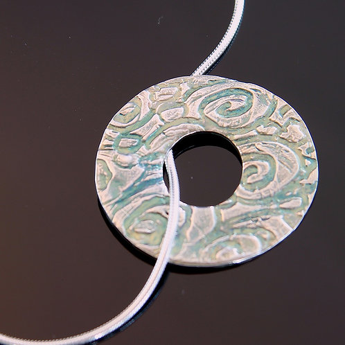 Circle Entwined Necklace