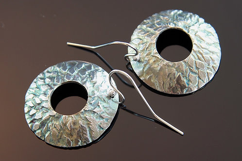 Open Sunflower Earrings