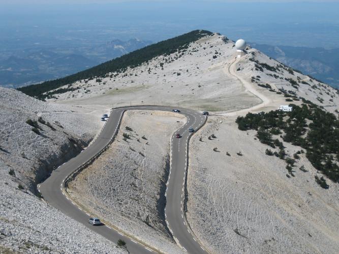 Mont Ventoux top - mijnfietsreis.JPG