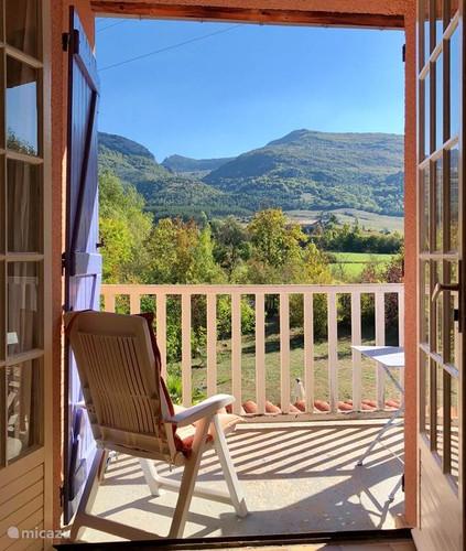 Uitzicht accommodatie Mont Ventoux -