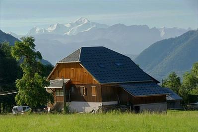 fietsaccommodatie Mont Blanc-mijnfietsre
