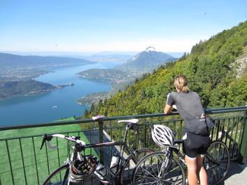 Lac d`Annecy - mijnfietsreis.nl.JPG