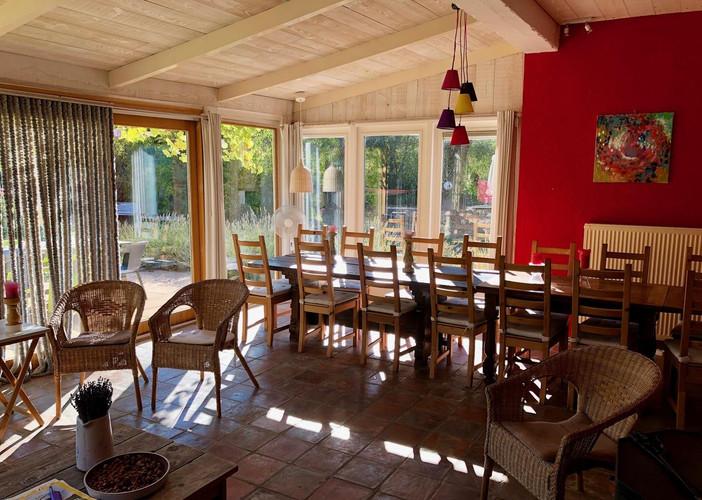Woonkamer accommodatie Mont Ventoux - mi