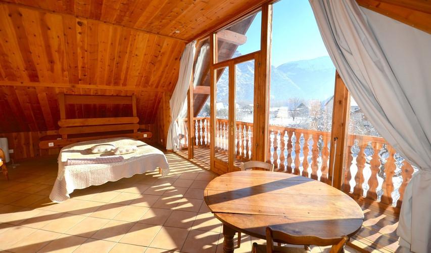 Slaapkamer Alpe d`Huez - mijnfietsreis.n
