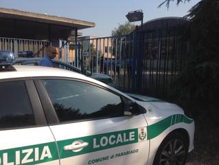 Ex Artea: stamane un controllo della Polizia Locale ha fatto allontanare tre rom stanziati abusivame