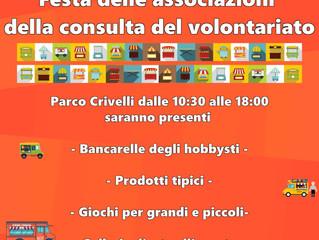 Festa della Consulta del Volontariato 2019: il 29 settembre le associazioni animeranno piazza Crivel