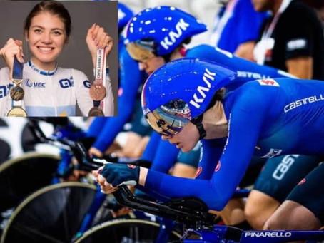 Martina Alzini alle Olimpiadi di Tokyo 2020: convocata per il ciclismo su pista.