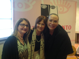 Barbara De Rossi dà il via alla 9^ edizione di Donne In Canto!