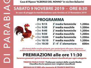 """""""Ragazzi in corsa… dai Nonni"""" arriva alla 20esima edizione, una tradizione oramai consolidata e atte"""
