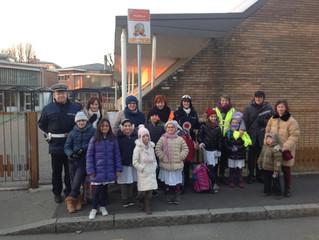 A Ravello si va a scuola a piedi! Il 9 gennaio è partito il servizio di Pedibus per i ragazzi della