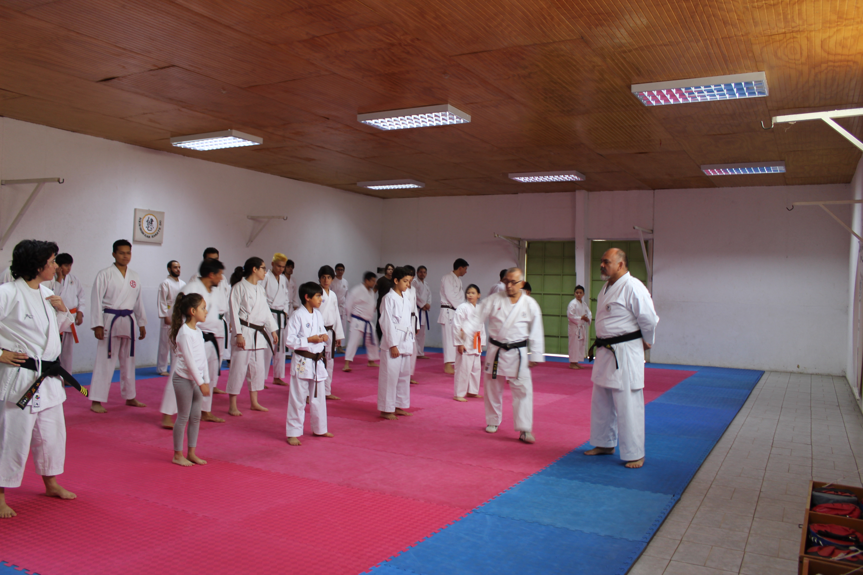 Clase de Karate Do