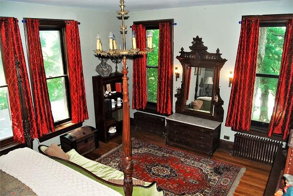 SW corner of Master Bedroom