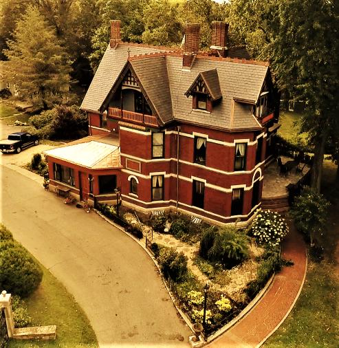 New Slate & Copper Roof