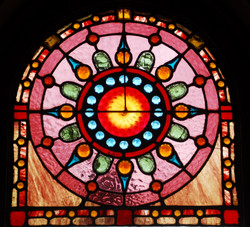 Several Stained Glass Windows