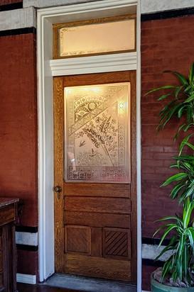 Door to Dining Room