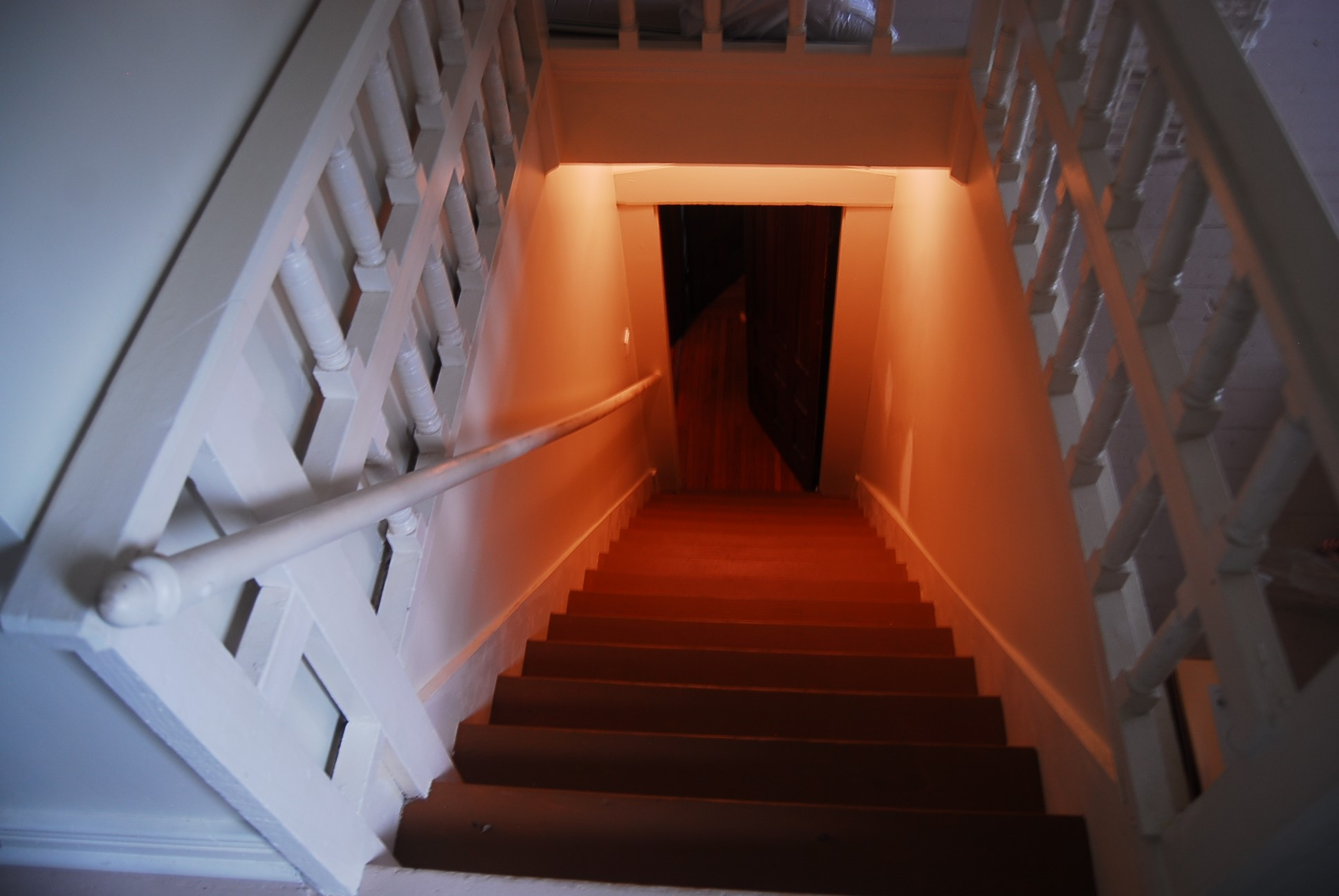 Stairway to Third Floor
