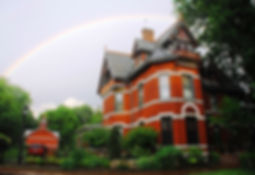 rainbow and house 6-29-14.JPG