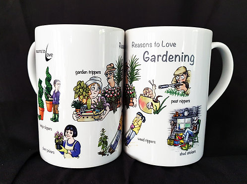 Reasons to Love Gardening Mug