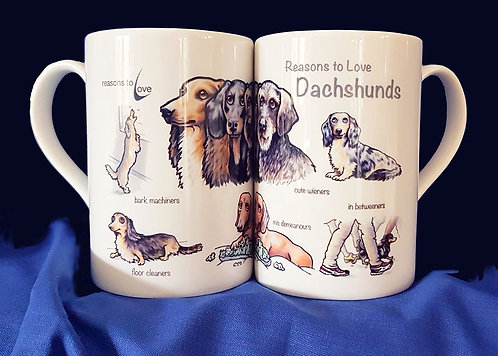 Reasons to Love Dachshunds Mug