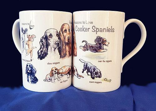 Reasons to Love Cocker Spaniels Mug