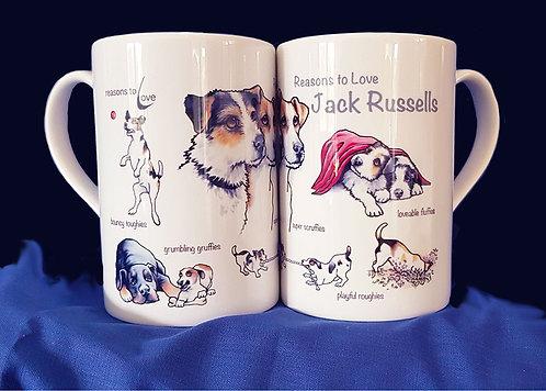 Reasons to Love Jack Russells Mug