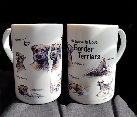 Reasons to Love Border terriers Mugs