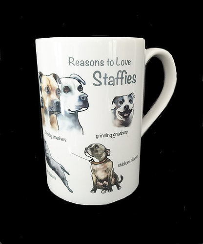 Reasons to Love Staffies
