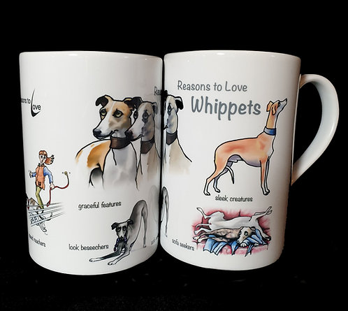Reasons to Love Whippets