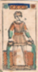 Tarot Minchiate, juego de mesa.